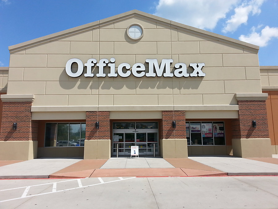 Find Near Me. OR enter your address to find the closest OfficeMax location. OfficeMax ensures you can get all your office needs in one convenient place without blowing your entire budget. Shop OfficeMax for the best office supplies at the best prices today! Office Equipment & Supplies. Related brands.