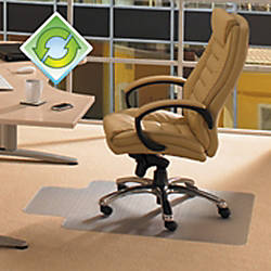 Ecotex Clear Evolutionmat Chairmat Home Office