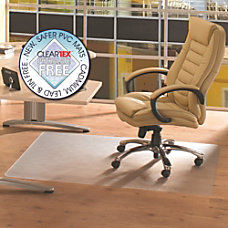 Cleartex Advantagemat Rectangular Chair Mat Hard
