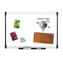FORAY Porcelain Magnetic Dry Erase Board