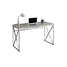 Monarch Specialties Contemporary MDF Computer Desk