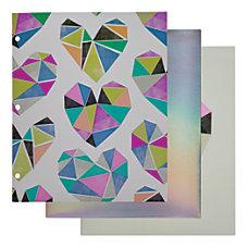 Divoga 2 Pocket Paper Folder Shine