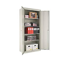 Alera Steel Storage Cabinet 5 Shelf