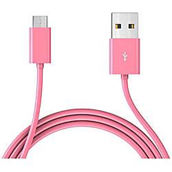 TAMO Micro USB Cable Pink 6ft