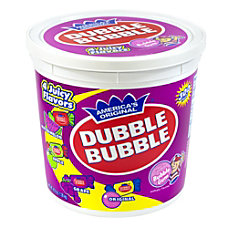 Dubble Bubble Assorted Twist Tub 300