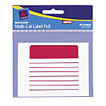 Avery Removable Adhesive Label Pad 3