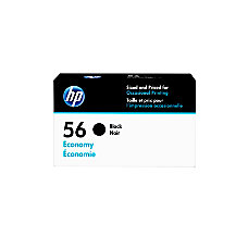 HP 56 Economy Yield Black Ink