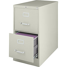 Lorell Deep Vertical File With Lock