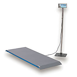 Brecknell ps1000 floor scale 1000 lb capacity by office for 1000 lb floor scale