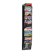 Safco 10 Pocket Mesh Magazine Rack