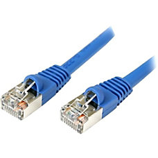 StarTechcom 10 ft Cat5e Blue Snagless