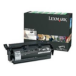 Lexmark X65x Original Toner Cartridge Black