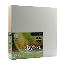 Ampersand Cradled Claybord 12 x 12