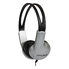 Koss ED1TC On Ear Headphones SilverBlack