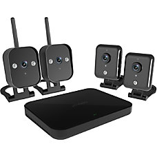 Zmodo 4 Channel 720p Wireless Mini