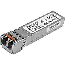 StarTechcom 10 Gigabit Fiber SFP Transceiver