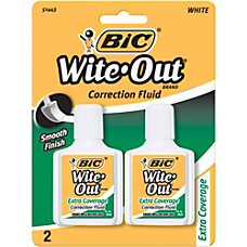 BIC Wite Out Extra Coverage Correction