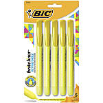 BIC Brite Liner Retractable Highlighters Chisel