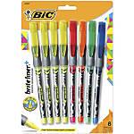 BIC Z4 Brite Liner Highlighters Chisel