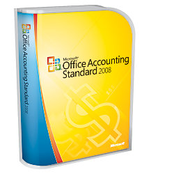 microsoft office accounting standard 2008 traditional disc