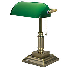 Realspace Traditional Bankers Lamp 14 34