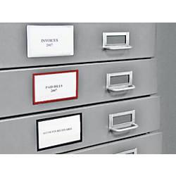 Panter Magnetic Label Holders Black Pack