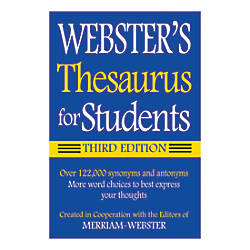 Federal Streets Press Websters Thesaurus For