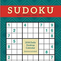 Daily Sudoku Desktop Calendar 5 12