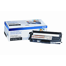 Brother TN 310BK Black Toner Cartridge