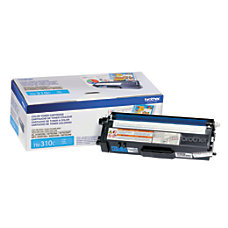 Brother TN 310C Cyan Toner Cartridge