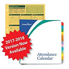 ComplyRight 2016 2017 Fiscal Attendance Calendar