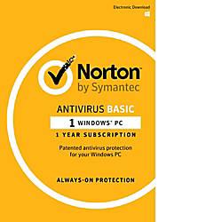 Norton AntiVirus 2017 1 User 12