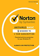 Norton AntiVirus 2017 1 User 12