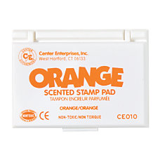 Center Enterprise Scented Stamp Pads Orange