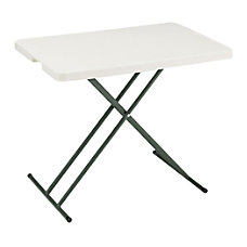 Realspace Folding Table Molded Plastic Top