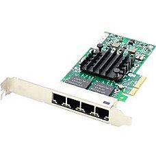 AddOn Intel EXPI9404PTL Comparable 101001000Mbs Quad