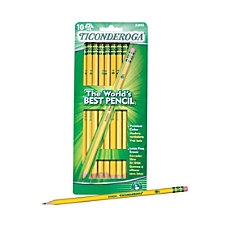 Ticonderoga Pencils HB Lead Box Of