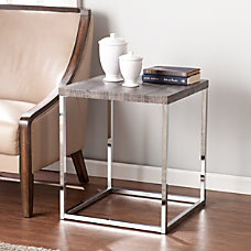 Southern Enterprises Glynn End Table Square