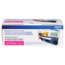 Brother TN 315M Magenta Toner Cartridge