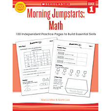 Scholastic Morning Jumpstarts Math Grade 1
