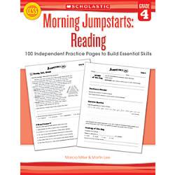 Scholastic Morning Jumpstarts Reading Grade 4