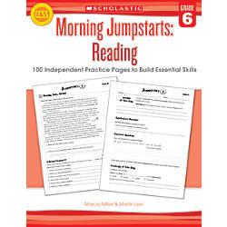 Scholastic Morning Jumpstarts Reading Grade 6