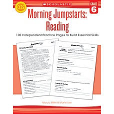 Scholastic Morning Jumpstarts Reading Grade 6