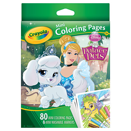 Crayola Mini Coloring Book Disney
