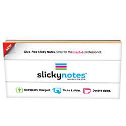 Slickynotes Self Stick Notes 7 78