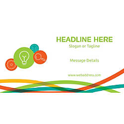 Custom Horizontal Banner Business Idea And