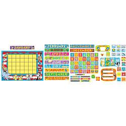 Eureka Dr Seuss Calendar Bulletin Board