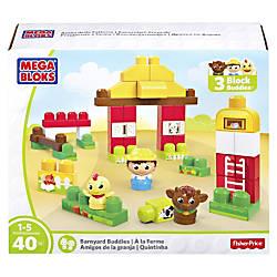 Mega Bloks Barnyard Buddies Building Blocks