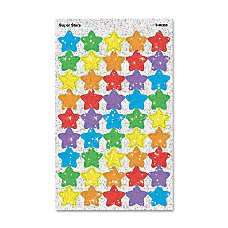 Trend Sparkle Stickers Large Super Stars