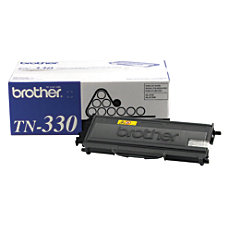 Brother TN 330 Black Toner Cartridge
